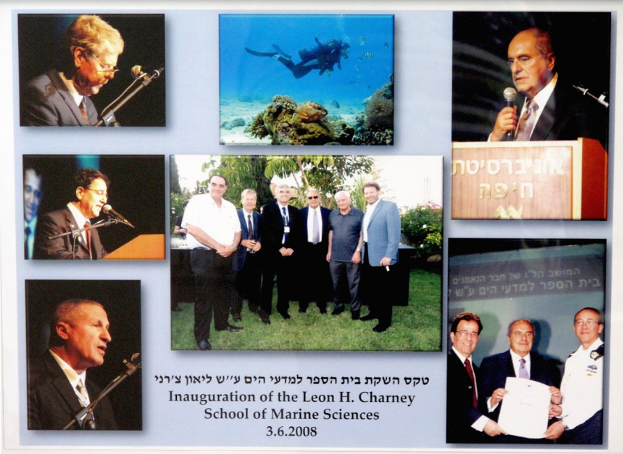 Inauguration of the Leon Charney School for Marine Sciences