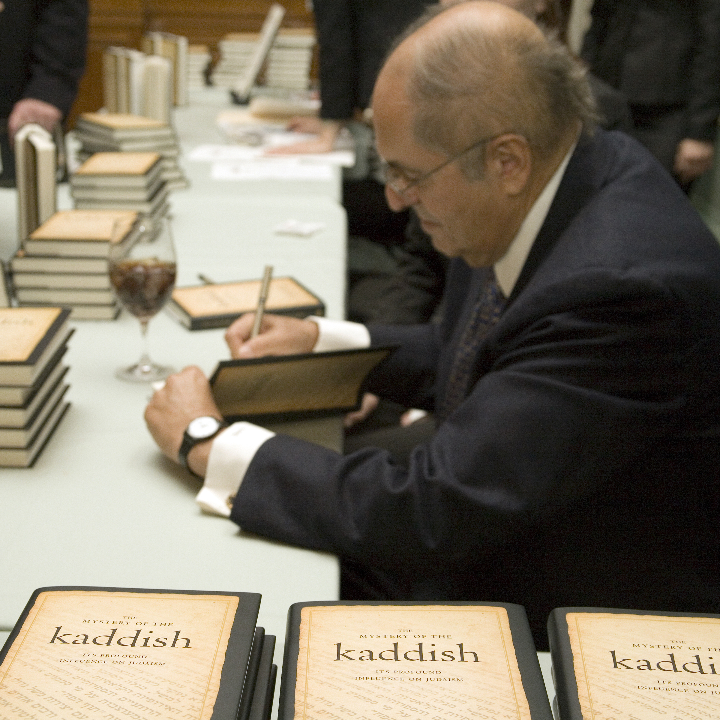 2007.05.12 Kaddish Book Launch 015 Leon Charney