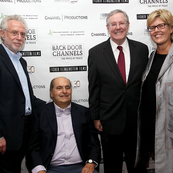 2011 BDC Film Opening 5 WolfBlitzerSteveForbesCharneys