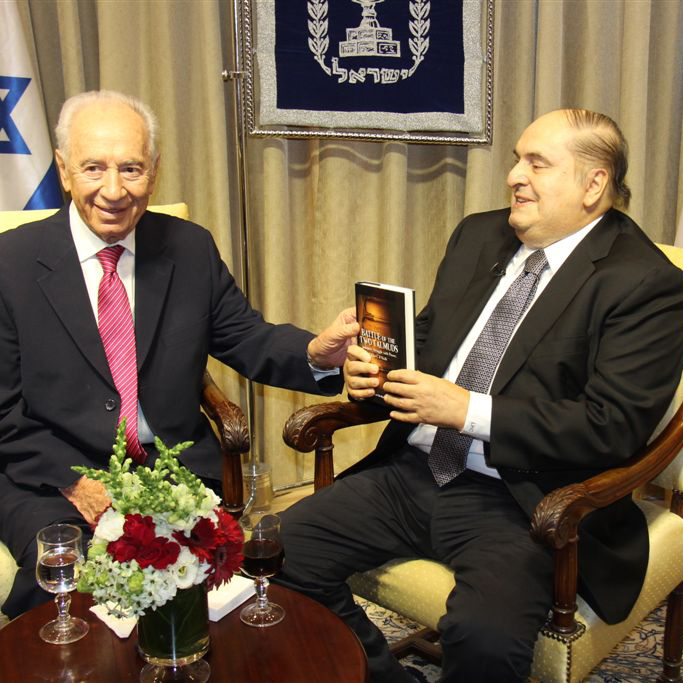 2012.09 Charney and Shimon Peres Interview 3539