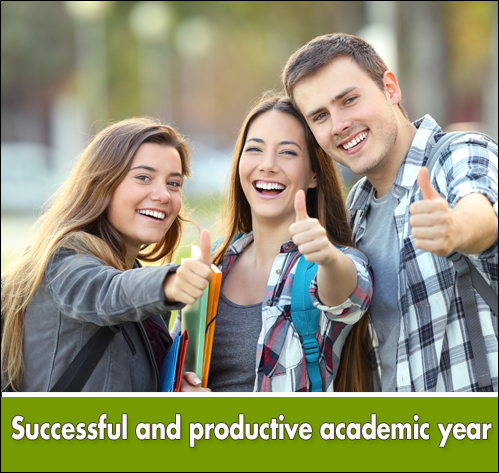 successful and productive academic year