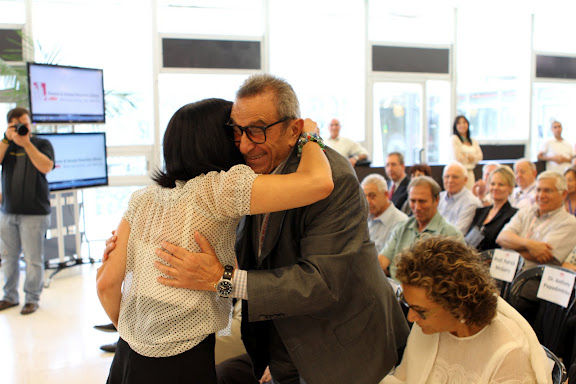 Dedication of the Younes and Soraya Nazarian Library